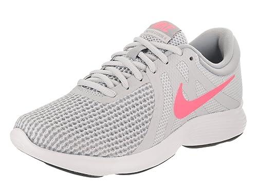 Nike Women s Revolution 4 PurePlatinumSunsetPulse Running Shoe 55 Women  US