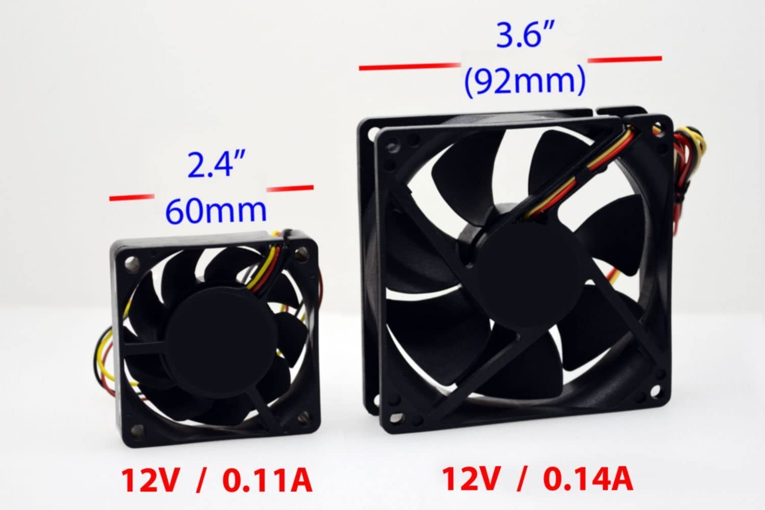 PartsCollection 2Pcs Replacement Fan Kit for Samsung HL-S5687W