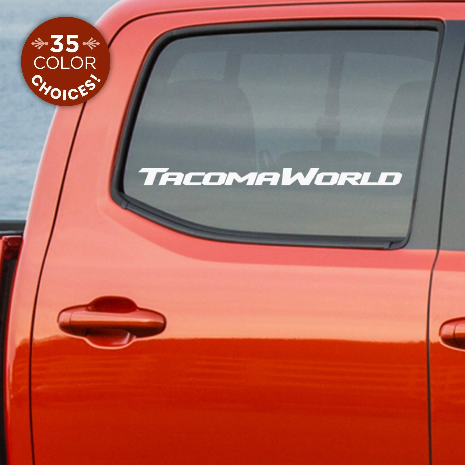 Amazon Com Toyota Tacoma World Car Decal Sticker For Fans Of