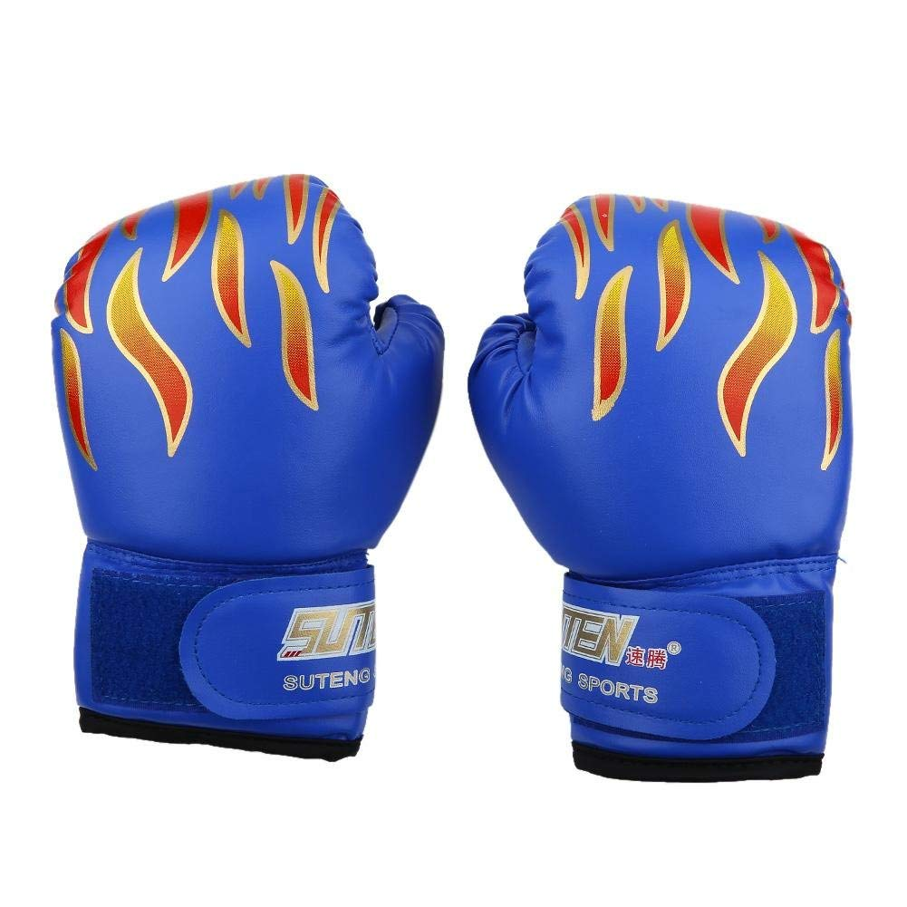 Red ProForce Lightning Karate Sparring Gloves Punches Kids Youth and Adult