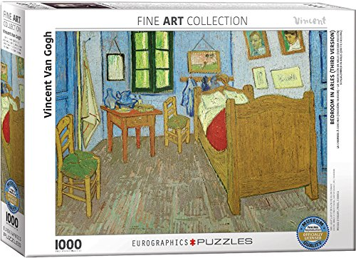 EuroGraphics Bedroom at Arles by Vincent Van Gogh (1000 Piece) Puzzle