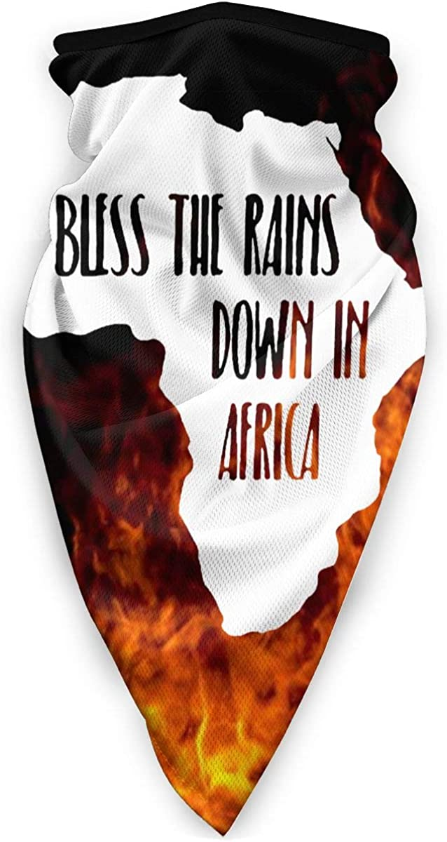 B086JR6481 I Bless The Rains Down in Africa Unisex Windproof Sports Scarf Outdoor Shield Headbands Bandana Balaclava 61j1xrx2QyL