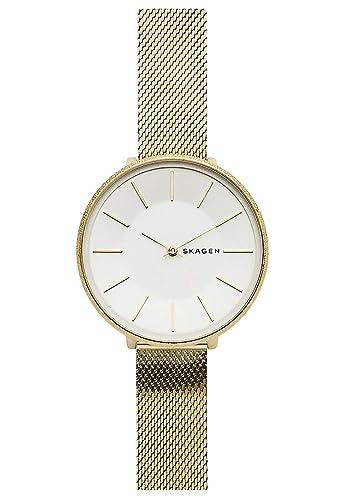 Skagen Reloj Analógico para Mujer de Cuarzo con Correa en Acero Inoxidable SKW2722: Amazon.es: Relojes