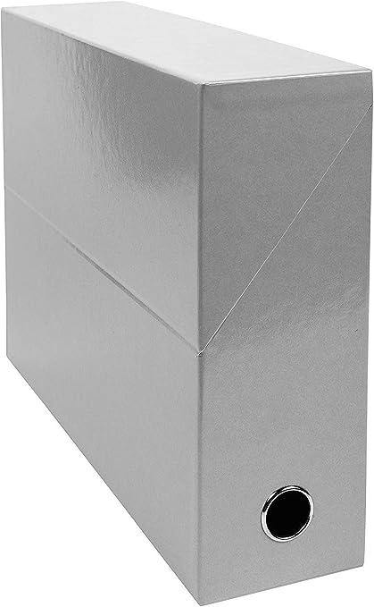 Exacompta 89937E - Carpeta (Conventional file folder, Caja de cartón, Gris, A4, 250 mm, 330 mm): Amazon.es: Oficina y papelería