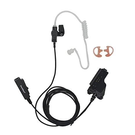 Amazon com: GoodQbuy 2 Wire Covert Acoustic Tube Earpiece