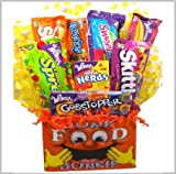 "Delight Expressions™ Junk Food ""Junkie"" Gift Box (Small) – Birthday or Get Well Gift! A Halloween Gift Idea!"