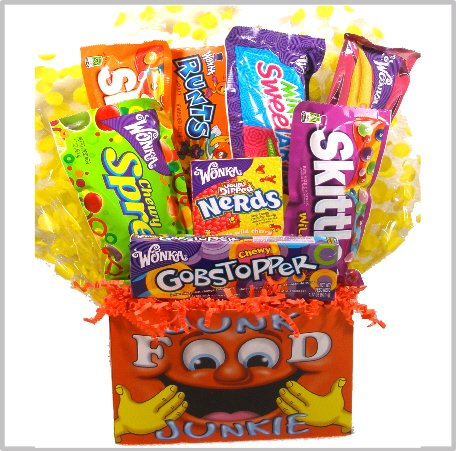 Amazon Delight ExpressionsTM Junk Food Junkie Gift Box Small