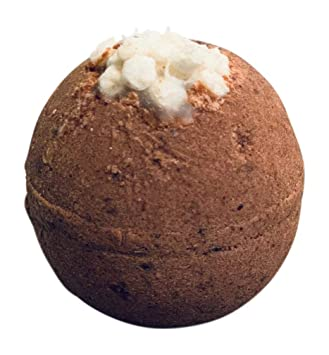 Hot Cocoa Scented Bath Bomb Made With Chocolate And Marshmallows By Diva Stuff