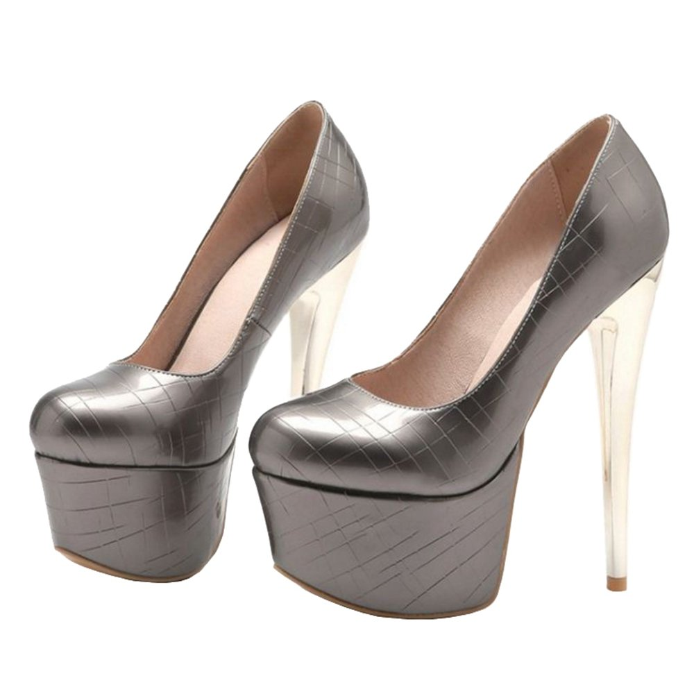 SJJH Damen Fashion Plateau Plateau Plateau Pumps mit Stiletto Absatz Schuhe für Party ec322e