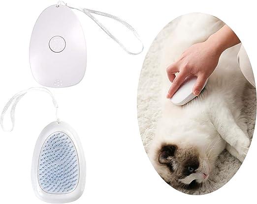 QIMMU Cepillo Gatos,Cepillo para Gatos y Perros,Peine Perro Pelo Corto,Peine de Limpieza para Mascotas Peine de Limpieza Autolimpiante para Cabello Largo y Corto: Amazon.es: Productos para mascotas