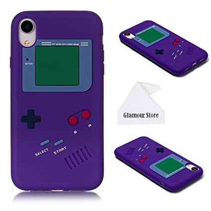 Amazon.com: Carcasa para iPhone XR, diseño retro 3D Game Boy ...