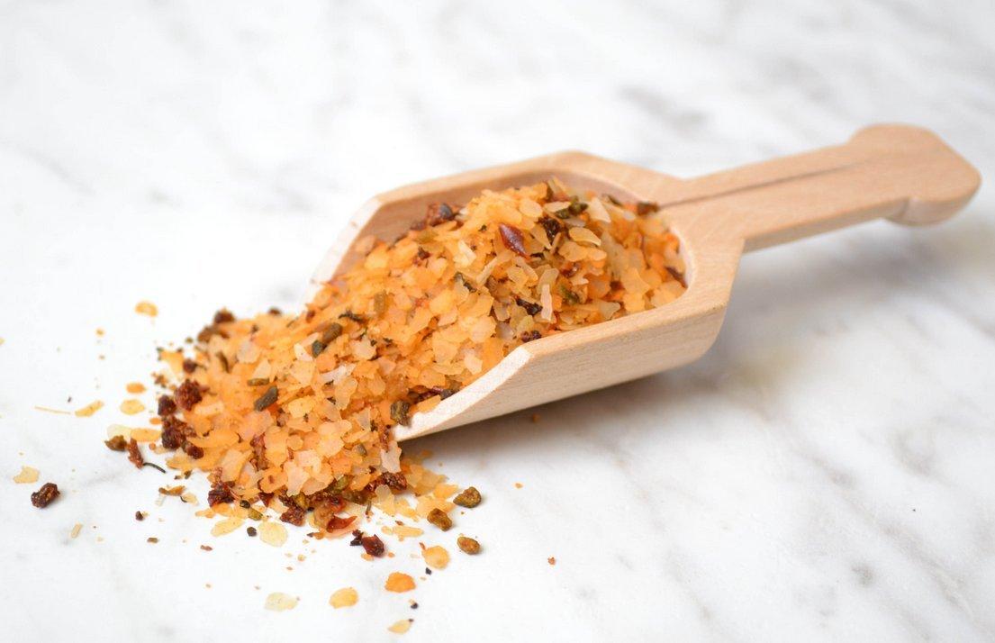 Garlic & Parsley Seasoned Salt - Large 7.5 Ounce - No MSG, All Natural, Gluten Free.