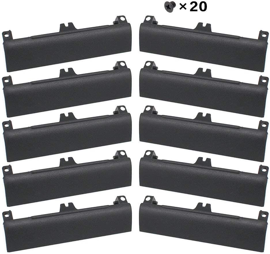 S-Union New Replacement 10 Pcs HDD Hard Drive Door Caddy Cover Compatible for Dell Latitude E6430 E6530 E6330 Series Laptop (with Screws)