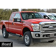 "Black 5"" iBoard Running Boards Fit 99-17 Ford F-250/F-350 SuperDuty Super Cab Nerf Bar Side Steps Tube Rail Bars"