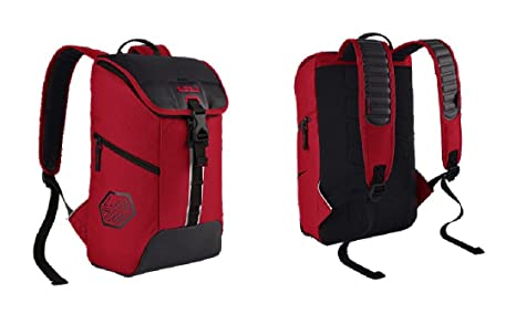 9b50649f9797 Image Unavailable. Image not available for. Colour  Nike LeBron Max Air  Kids  Backpack (Red) One Size