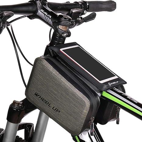 Selighting Bolsa de Bicicleta Cremallera Impermeable Bolsa Marco ...