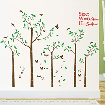 . Huge Family Tree Wall Decals Wall Sticker Removable Vinyl Mural Art Wall  Stickers Kids Room Nursery