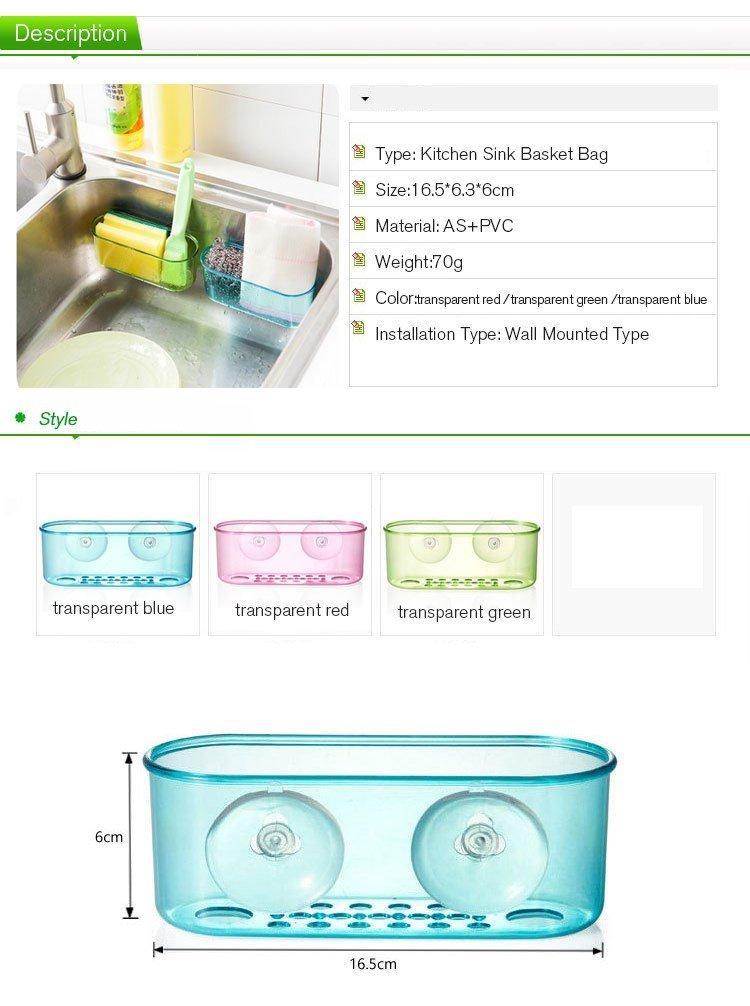 Amazon.com : Random Colors Kitchen Sink Storage Rack Dish ...