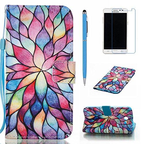 Galaxy J3 Emerge Case, J3 2017 Case, J3 Prime Case, Everun Premium PU Leather Flip Folio Magnetic Closure Protective Wallet Case Cover for Samsung Galaxy J3 Emerge/J3 2017/J3 Prime