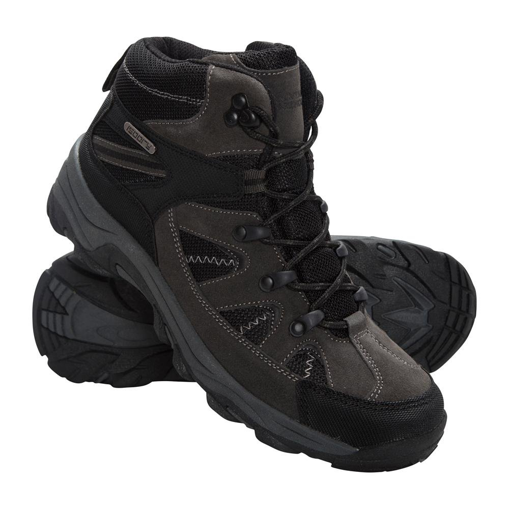 Mountain Warehouse Rapid Womens Boots Waterproof Summer Walking Shoes Black 10 M US Women