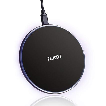 Amazon.com: TEINO NSC021 Cargador inalámbrico rápido, QI ...