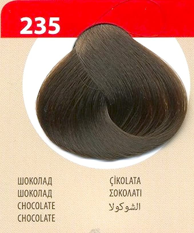 Vips Prestige Tinte Permanente para cabello Color 235 Chocolate