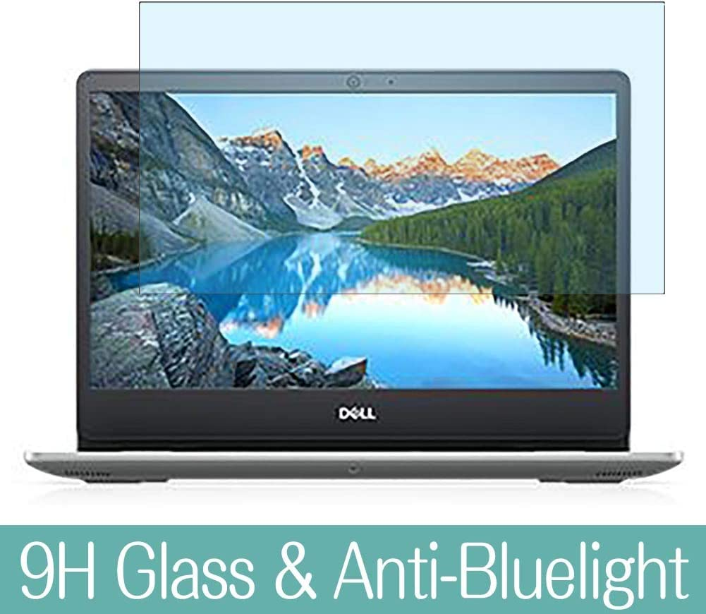 """Synvy Anti Blue Light Tempered Glass Screen Protector for Dell Inspiron 15 5000 (5593) 15.6"""" Visible Area 9H Protective Screen Film Protectors"""