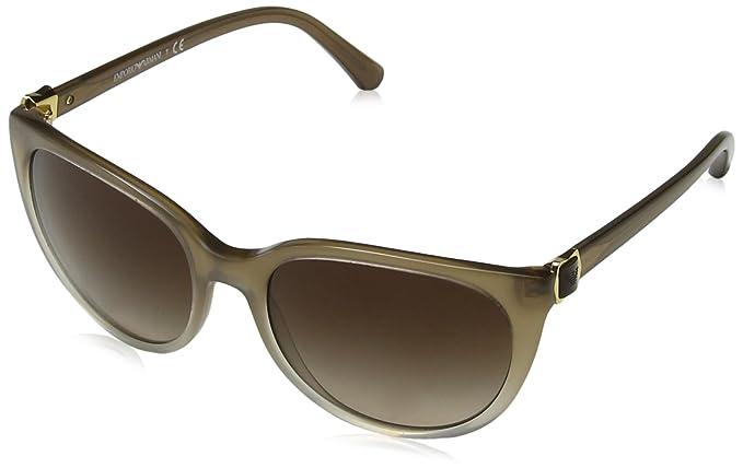 Emporio Armani Unisex-Erwachsene Sonnenbrille Earmani 4083, Schwarz (Black 50178e), 59