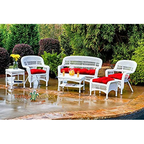 Outdoor Patio Furniture Sale Amazon: White Wicker Furniture: Amazon.com
