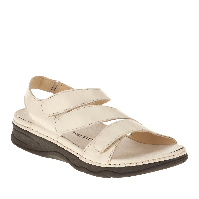 Drew Angela Women's Sandal B00SWI8Y28 8 E US|Bone Smooth Leather