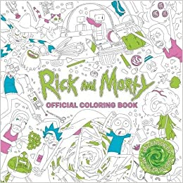 Amazoncom Rick and Morty Official Coloring Book 9781785655623
