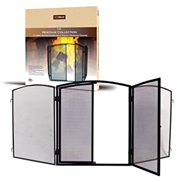 De Vielle Heritage Classic Stove Guard with Front Opening Doors ...