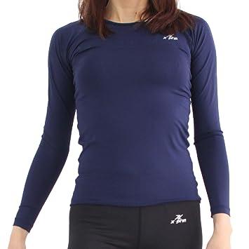 365a2f85c9e XPRIN A100 Series Women s Long Sleeve Cool Base Layer Compression Shirt  Sports Wear (2S