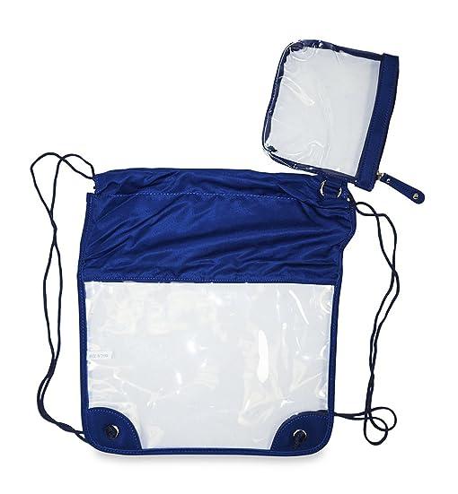 Clear Mini Drawstring Bag