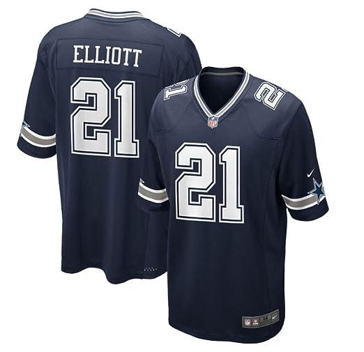 buy popular b9602 0d61c Dallas Cowboys Men's Mens Ezekiel Elliott Nike Navy Game Jersey Navy Size  XXX-Large