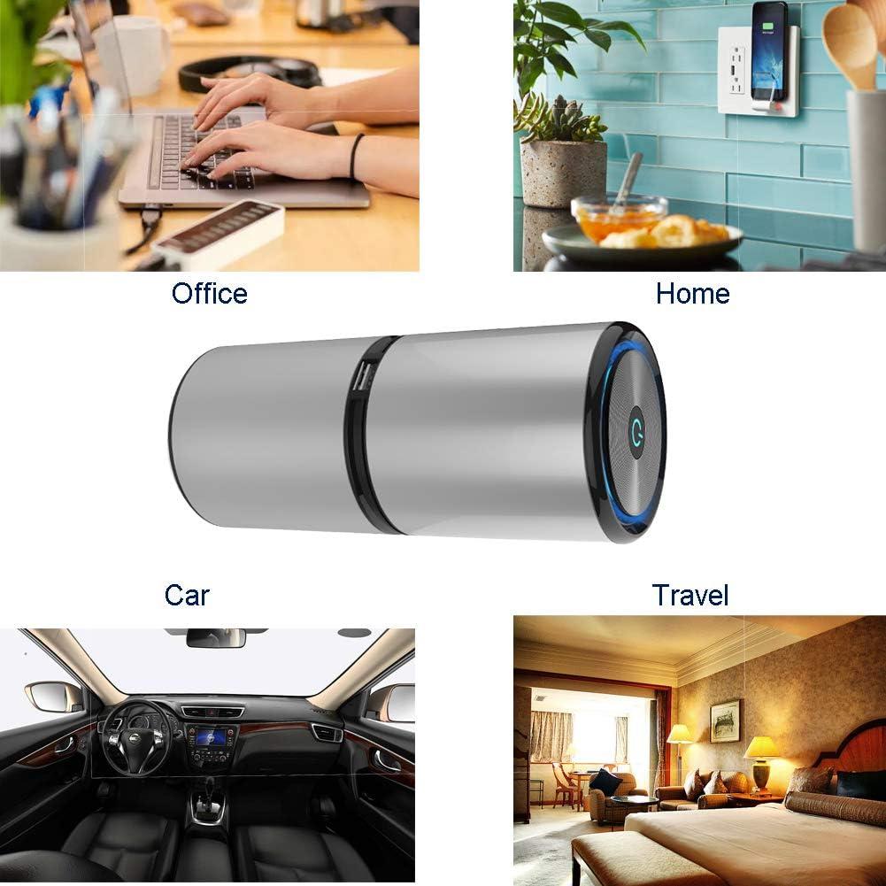 PINUMI Purificador Aire, Ionizer Car Purificador de Aire con Cable ...