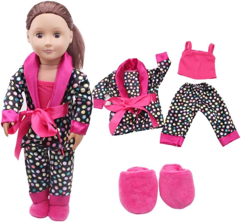 Hot Doll Clothes Dress Outfits Pajames For American Girl Our Generation Accs