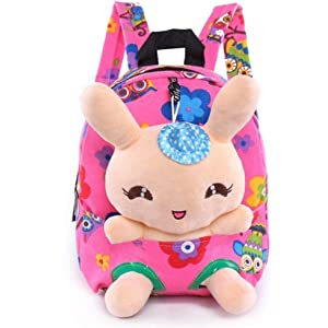 5a705f11a47d Little-Sweet Rabbit Backpack Cute Kids Toddler Backpack Plush Toy Backpack  Snack Travel Bag Pre