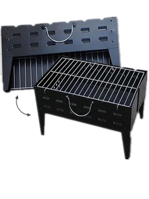 BBQER-A Barbacoa portátil al aire libre parrilla de carbón ...