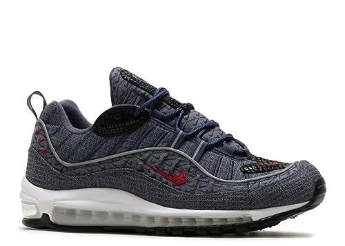 Zapatillas NIKE Air MAX 98 QS BlueRed: Amazon.es: Zapatos y