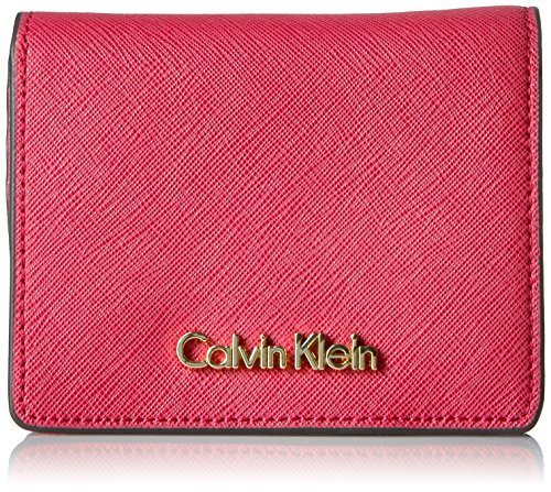 Calvin Klein Key Item Small Flap Saffiano Wal…