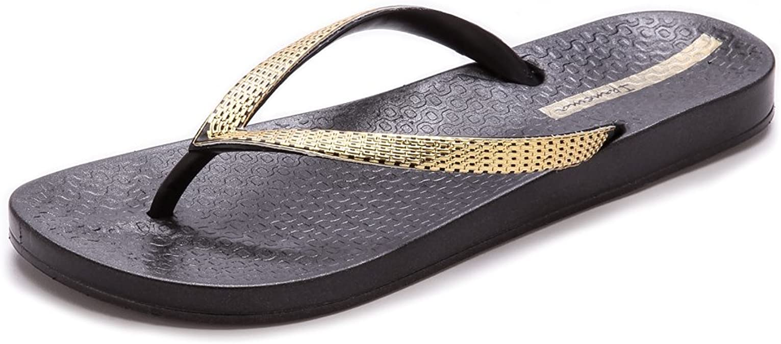 Ipanema Womens Ana Metallic Iii Sandal