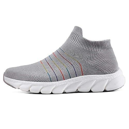 Moda Zapatillas para Mujer Zapatos para Caminar Ligeros Suaves y Casuales de Malla para Correr: Amazon.es: Zapatos y complementos