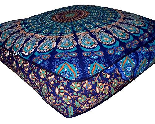Amazon.com: ANJANIYA - Funda de almohada para el suelo del ...