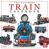 The Ultimate Train Calendar 2018 Wall Calendar (CA0187)