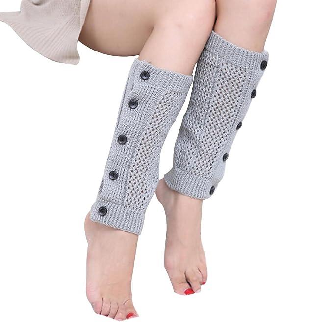 cda873762 Leben Fashion para mujer, otoño invierno cálido Button Down malla ...