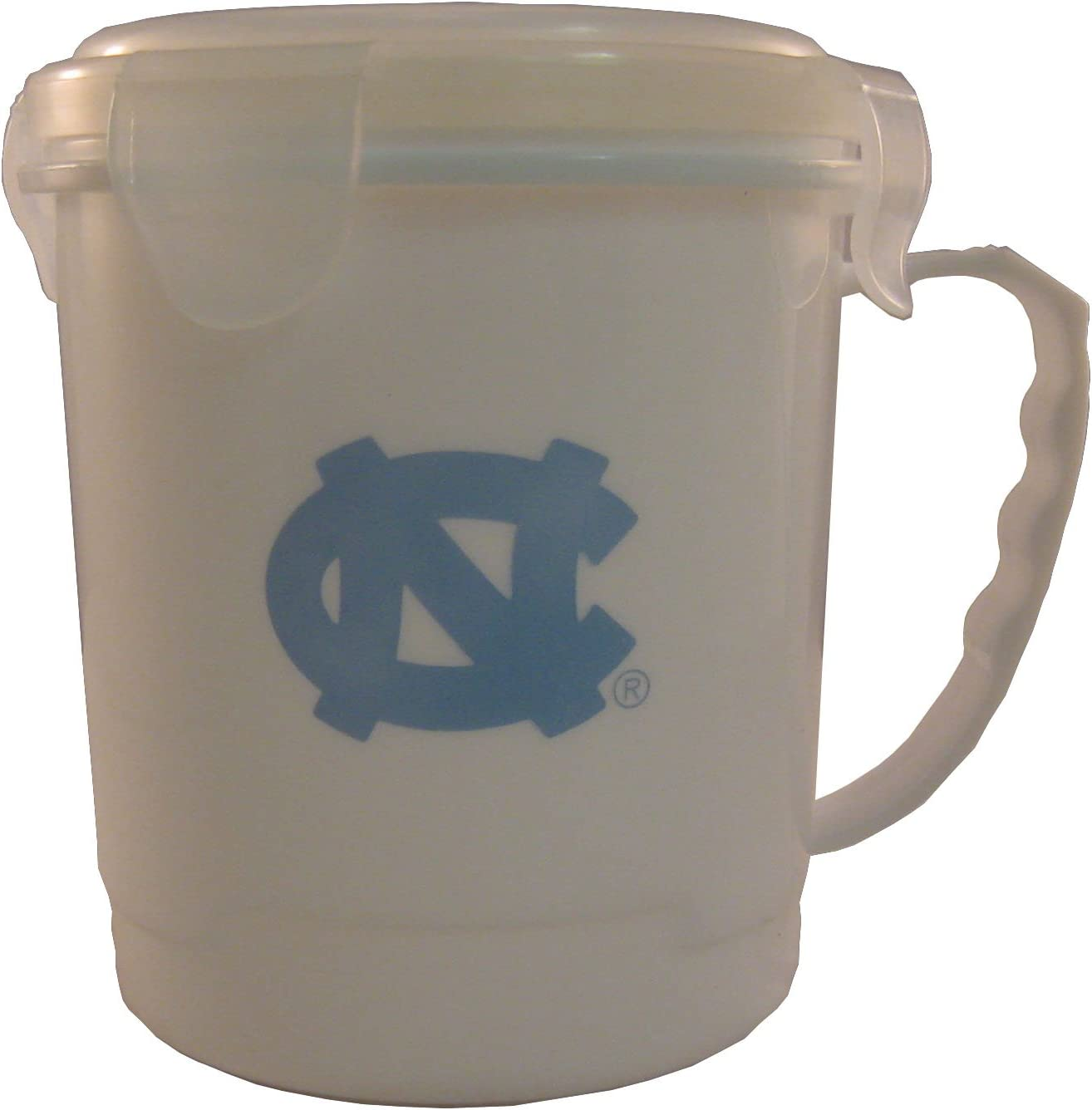 Boelter NCAA 24oz Plastic Soup Mug with Lid