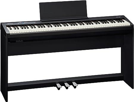 Roland FP-30 88 - Rollo de papel para notas (piano digital, con soporte), color negro
