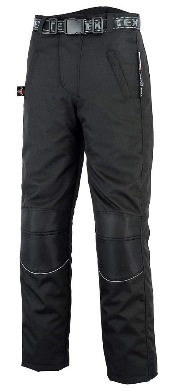 Schwarz Regenhose f/ür Motorrad//Motorroller mit durchgehendem Rei/ßverschluss am Bein Wasserdicht Texpeed