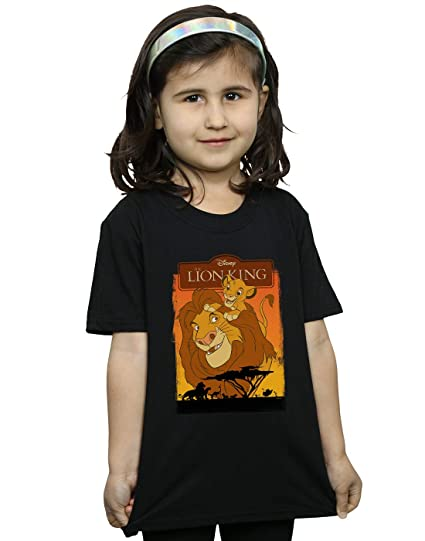 8d877803 Amazon.com: Disney Girls The Lion King Simba and Mufasa T-Shirt ...